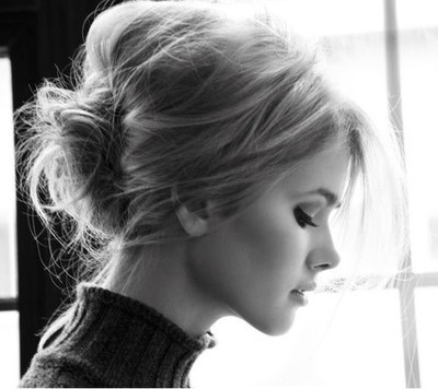 nice pictures to give you some ideas and inspiration for a messy bun