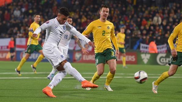 Lithuania 0 - 3 Inggris Kualifikasi EURO