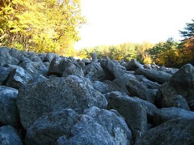 River of Rocks Trail Hawk Mountain Sanctuary Kempton Pennsylvania PA 19529