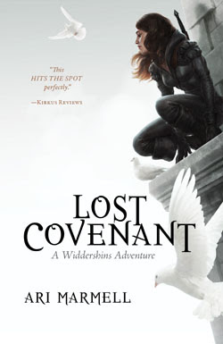 Young Adult Fantasy Review of Lost Covenant by Ari Marmell