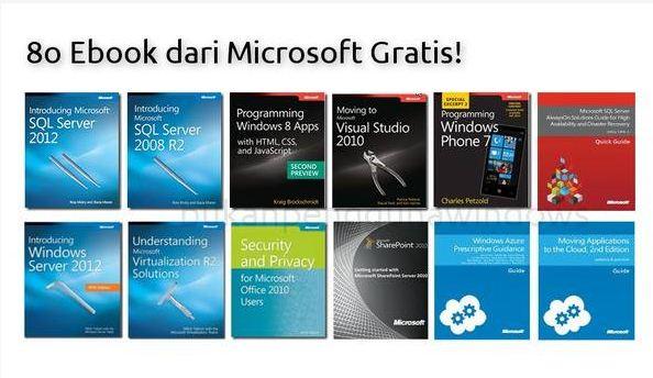 80 Ebook dari Microsoft Gratis