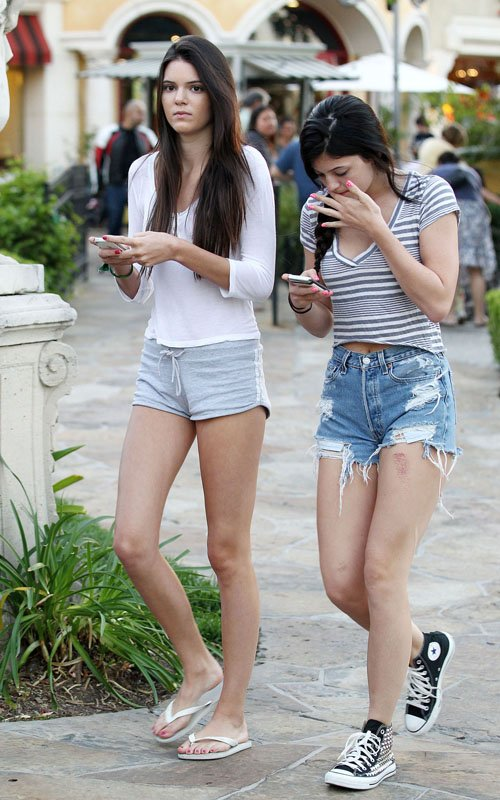 Kendall & Kylie Jenner: Dinner Duo