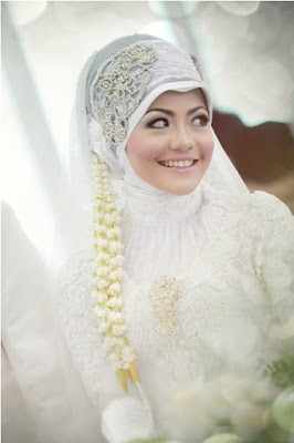 Contoh Model Hijab Pengantin Muslimah
