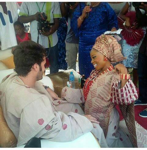 Tosyn Bucknor traditional wedding
