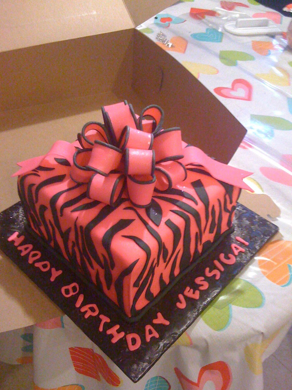Queenies Cakes Happy Birthday Jessica