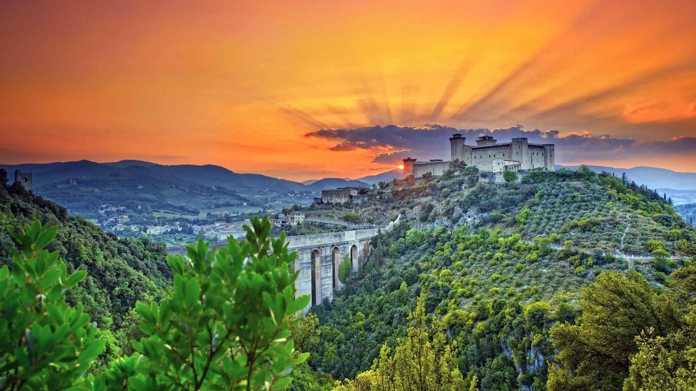 Spoleto Italy  City pictures : Italia, fotos e historias by Patzy: Spoleto, antigua ciudad de Umbría