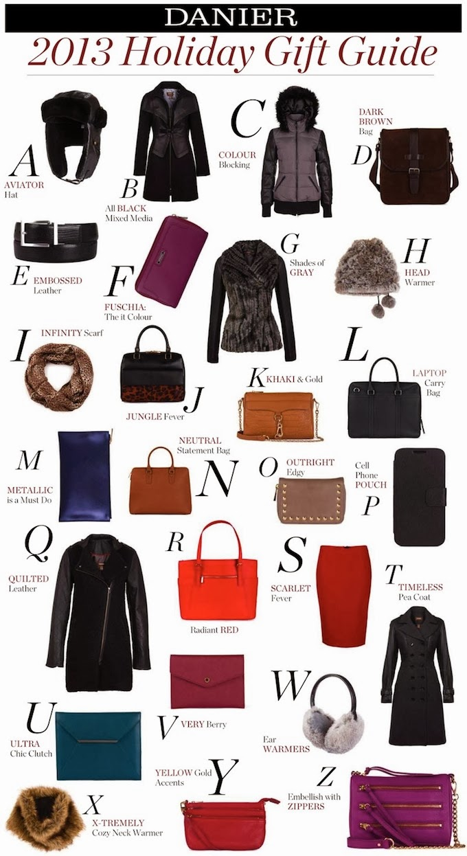 Danier Gift Guide + My top holiday picks
