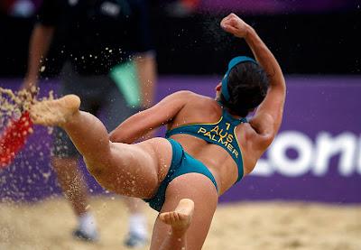 E se os esportes fossem fotografados como o volêi de praia nas olimpíadas de Londres 2012?
