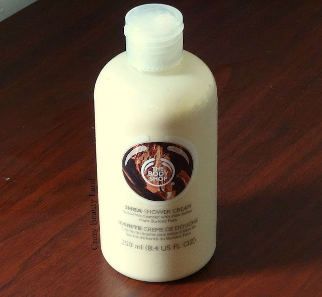 The Body Shop India Shea Shower Cream Review Price Online India