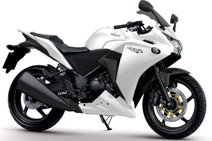 Kawasaki Ninja ZX-6R Warna Hitam Putih (Black and White)