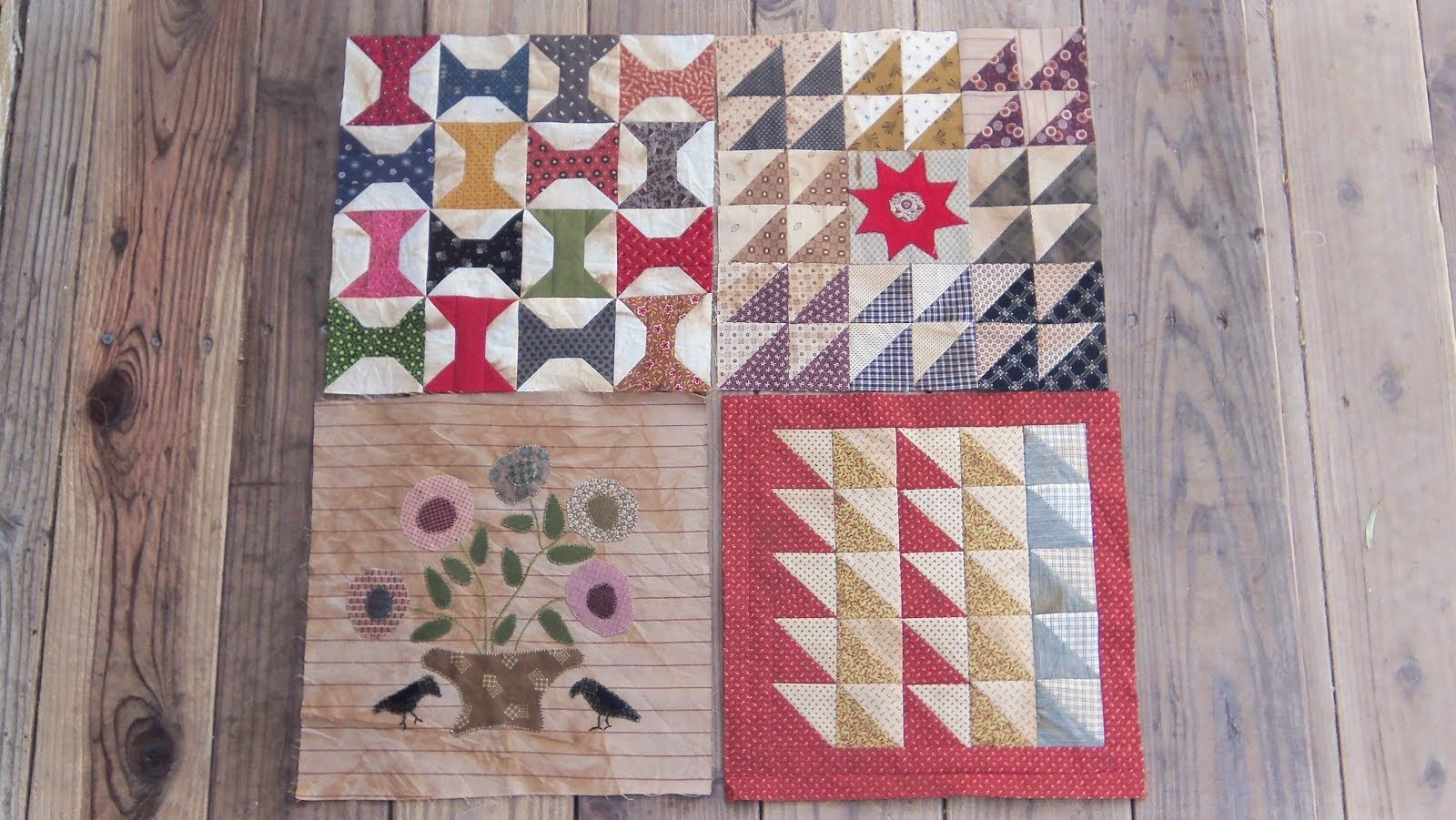 Common Threads.....blocks 5-8