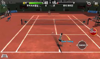 Screenshots of the Ultimate tennis for Android tablet, phone.