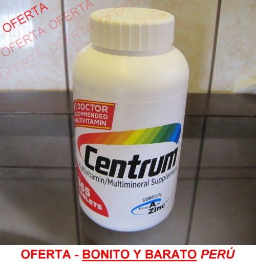 Multivitamínico & Multimineral Centrum® de 365 pastillas