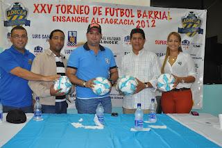 ADECEA anuncia XXV Torneo de Fútbol  Barrial