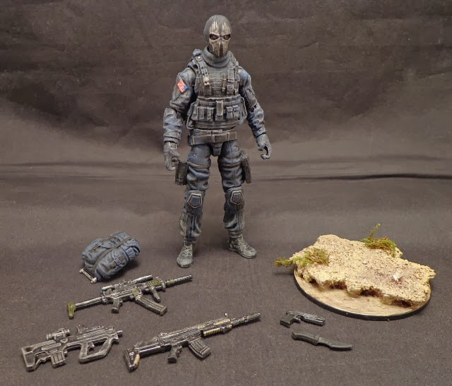 stronox custom figures call of duty ghosts logan t walker