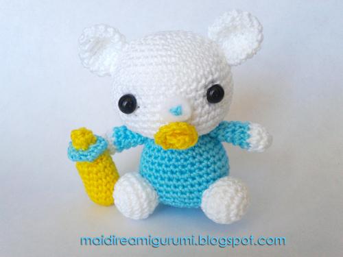 Amigurumi Baby Bear : Mai Dire Amigurumi: settembre 2012