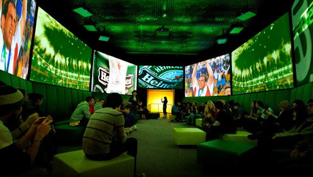 Heineken Experience em Amsterdã