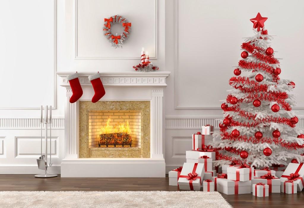 Icono Interiorismo Decora la navidad en rojo y blanco