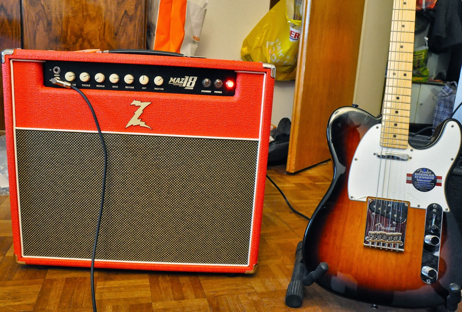 My New Amp Dr. Z Maz 18