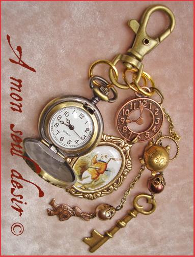 Le blog de la boutique bijoux et merveilles des bijoux d - Montre lapin alice au pays des merveilles ...