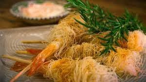 Media hora para cocinar rollo de langostinos con pasta - Que hacer con la pasta filo ...