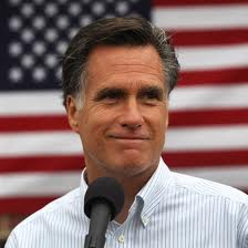 US Presidential Candidate Mitt Romney