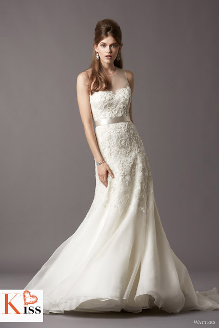 Watters 2013 Spring Lace princess Wedding Dresses