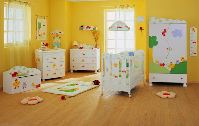 Estilos para la decoración del cuarto del bebe