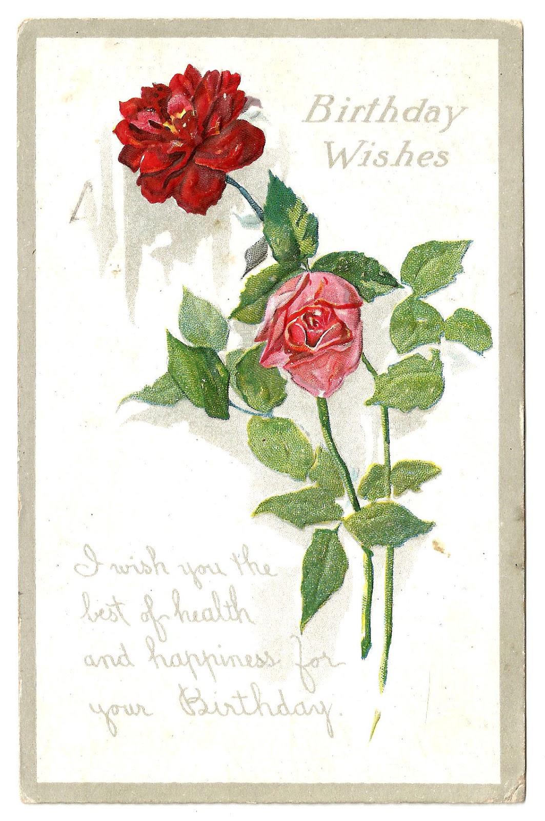 antique images  free flower graphic  vintage rose digital label design