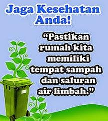 Poster Kesehatan Untuk Kebersihan lingkungan