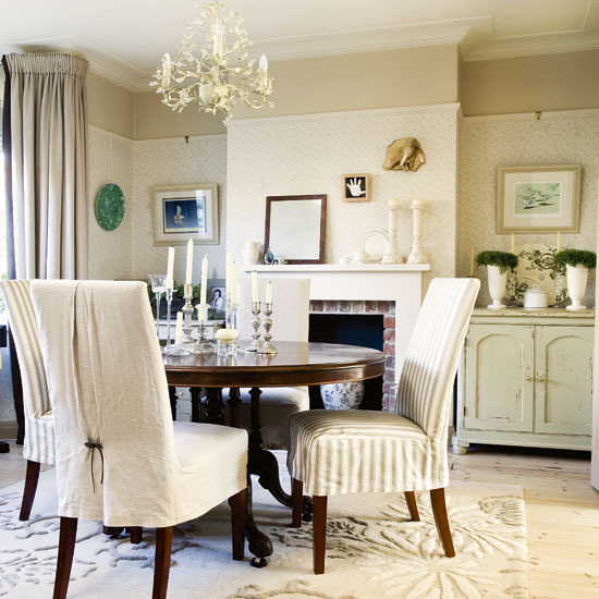French Inspired Dining Room  Design Gallery