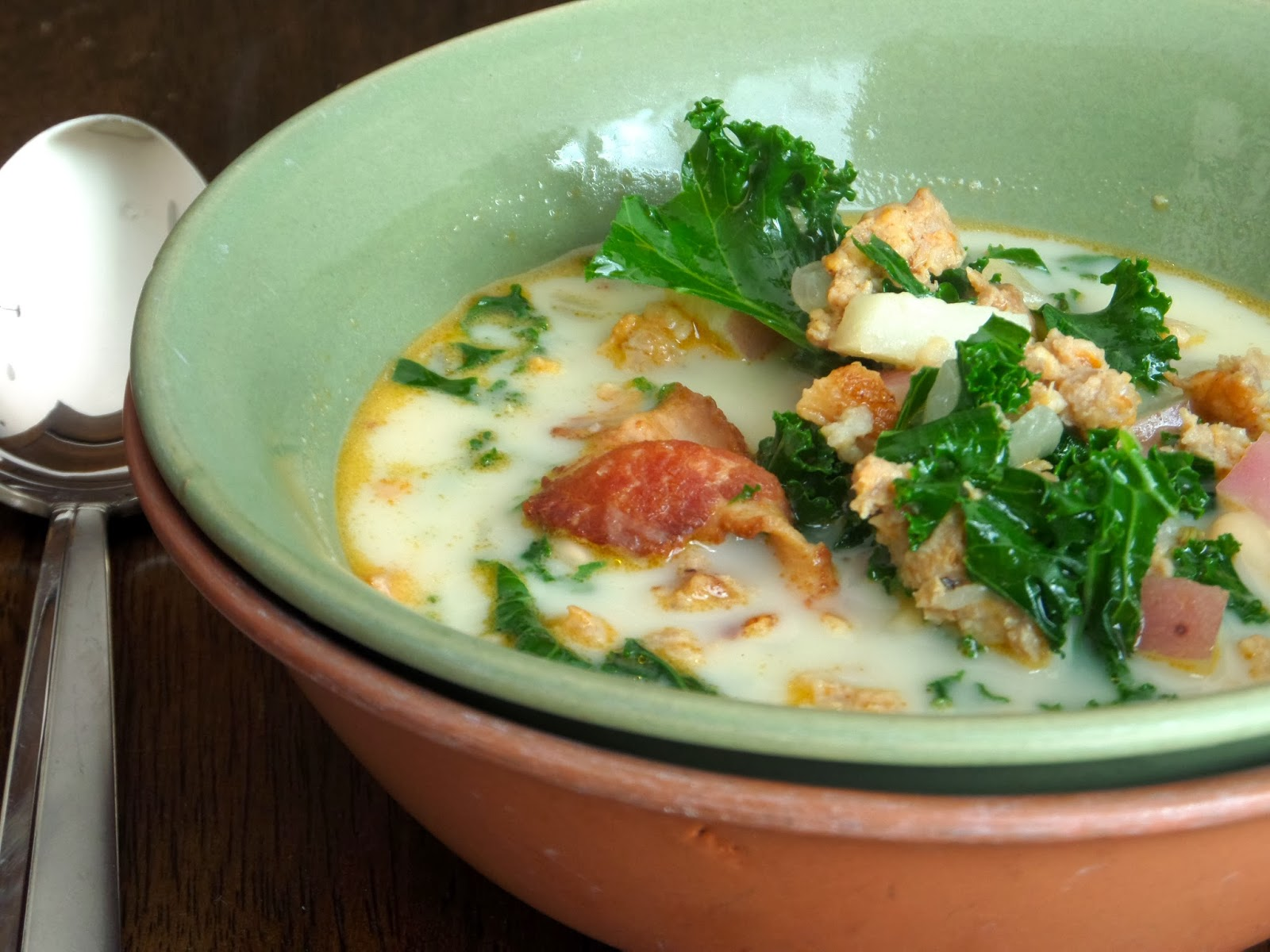 Foodie In Minnesota Kale Sausage Potato Soup Olive