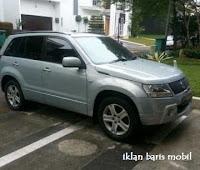 Dijual - Suzuki Grand Vitara Silver Automatic, iklan baris mobil gratis