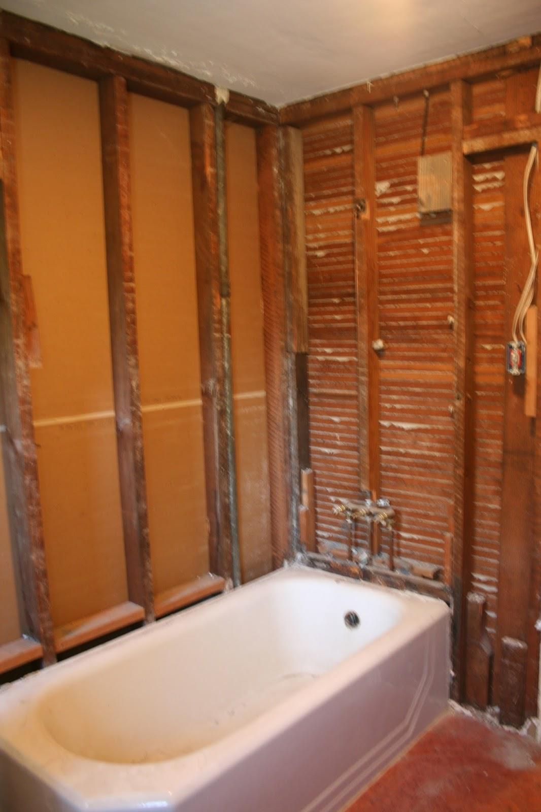 Laurelhurst craftsman bungalow bathroom demo39d for How to demo a bathroom
