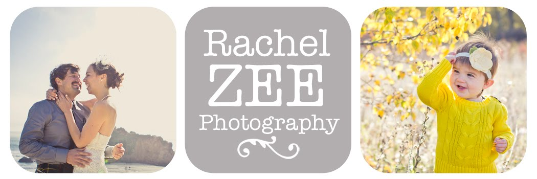 Rachel Zee Photography - Weddings, Family Portraits, Fashion Photography, Monterey California