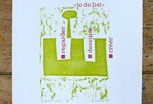 gravure «to do»