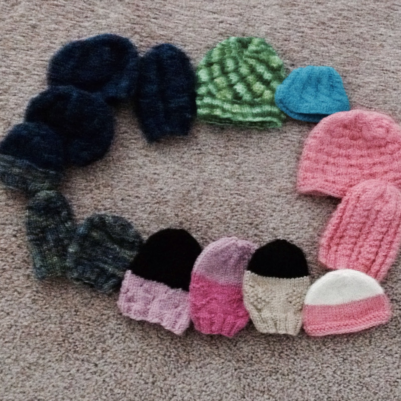 Knitting Patterns For Crazy Hats : Crazy Knitting Fool: FO: Remembering Remy Hats