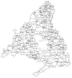 El blog de Nomecalles Quiero un mapa de municipios de la