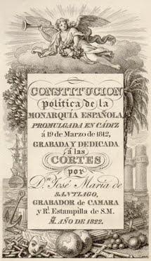 3 CONSTITUCIONES, 3 ESPAÑAS