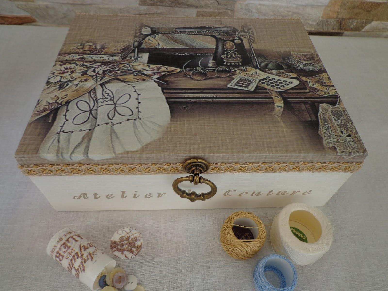 Caja de tapa de voladura vintage