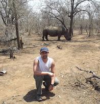 Rinoceronte del Parque HLane Nisela (Swazilandia)