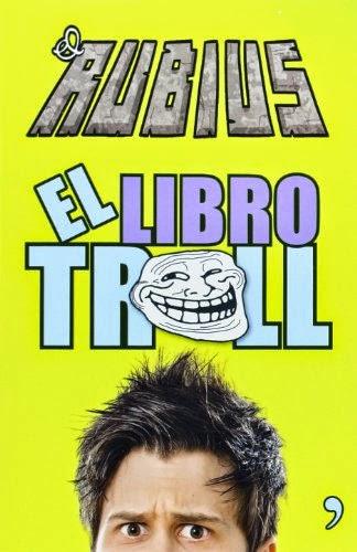 portada del libro el troll con retos divertidos para hacer solo o con amigos