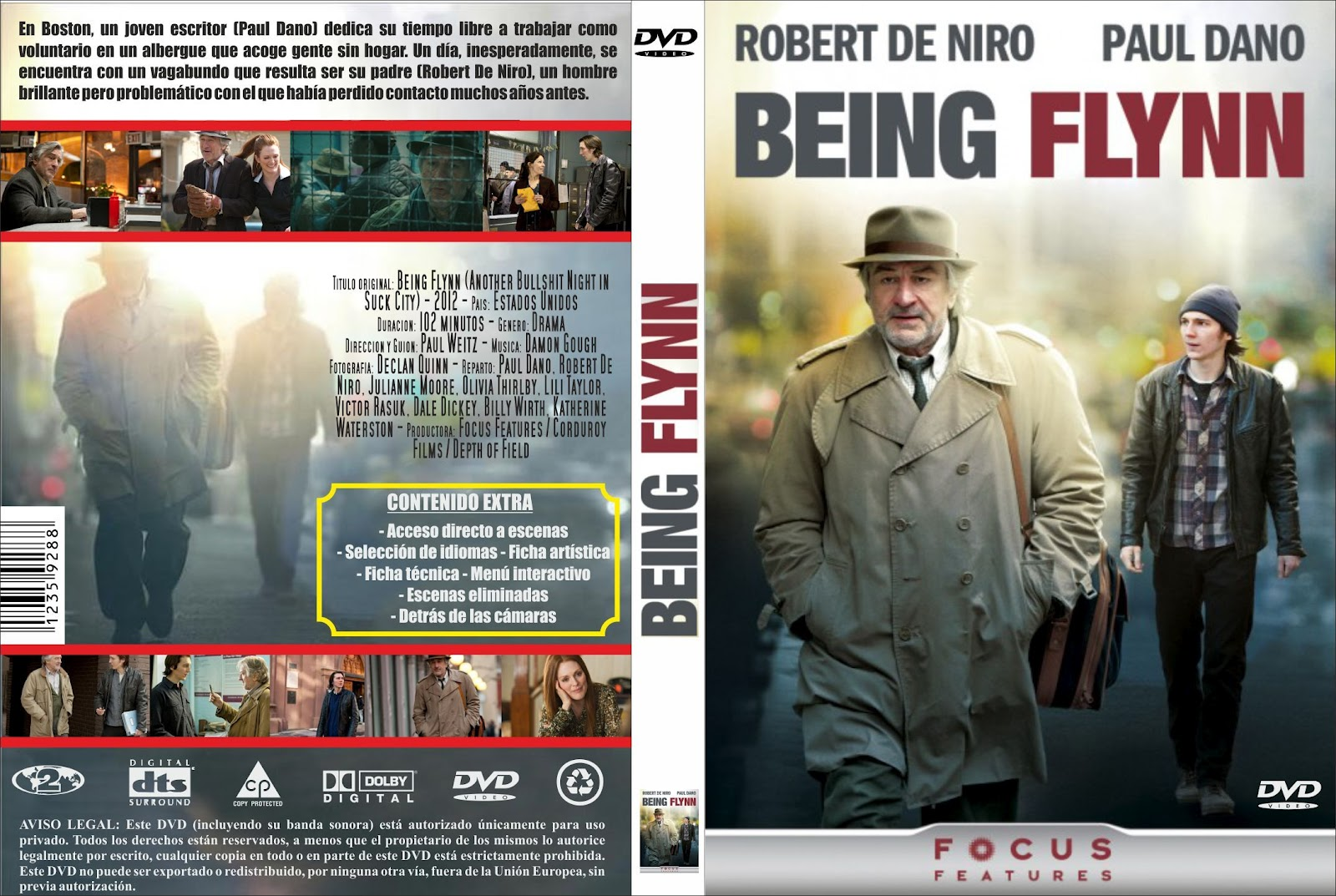 Being Flynn - DVDFULL LATINO