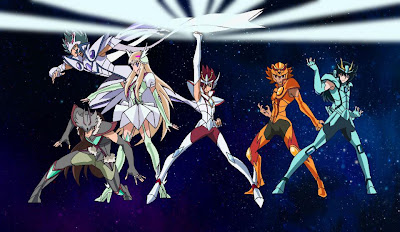 Saint Seiya Omega - cine series y tv