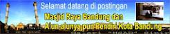 Masjid Raya Bandung dan Alun-alunya pun Pendiri Kota Bandung