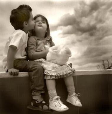 Imagenes de amor niños