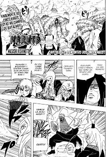 Naruto 563 Mangá português Leitura Online