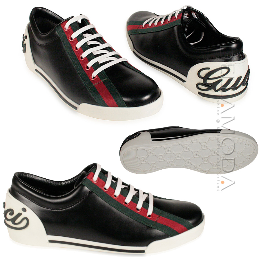 fashion world gucci shoes for black