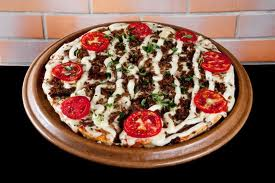pizza de carne de sol