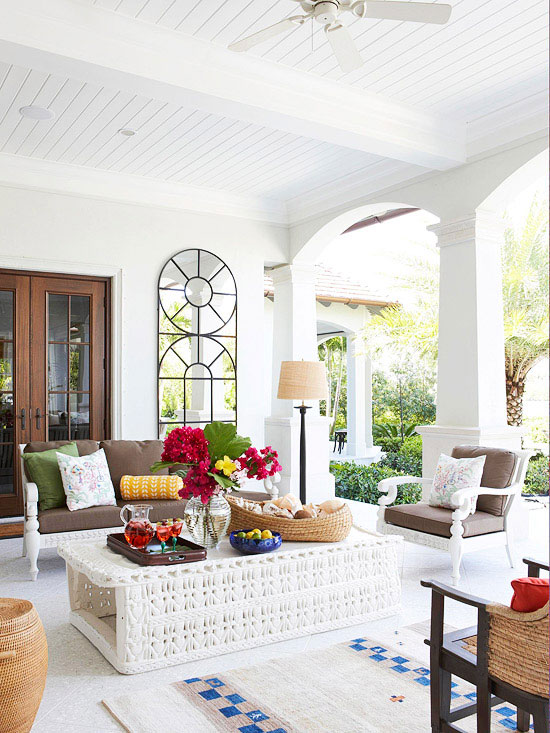 Fabulous porches decorating ideas for summer 2013 for Covered porch decorating ideas